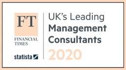 Curzon Consulting Financial Times UK Leading Management Consultants 2020